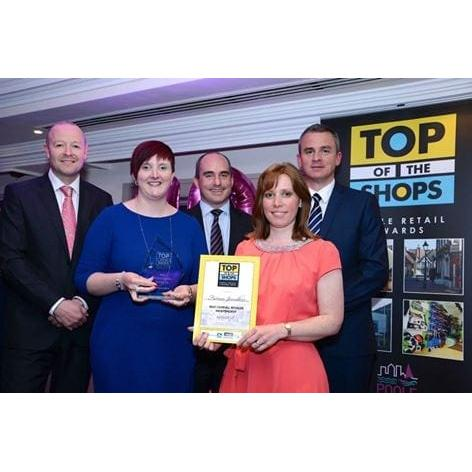Forum Jewellers wins at the Poole Top of The Shops Awards