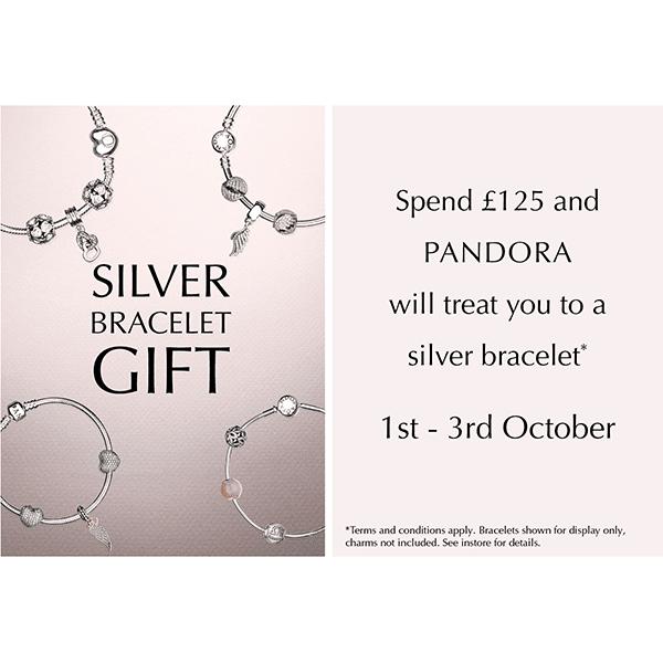 Pandora Offer – Silver  Bracelet Gift