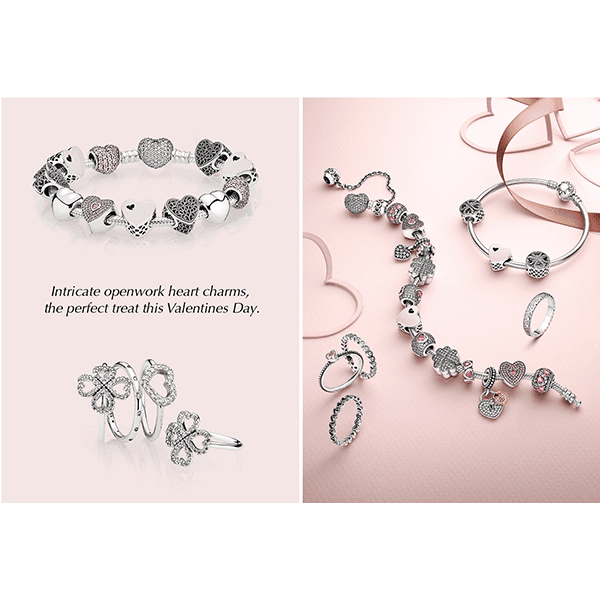New Pandora Valentines Available Now