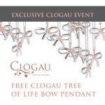 Free Clogau Tree of Life Bow Pendant worth £99