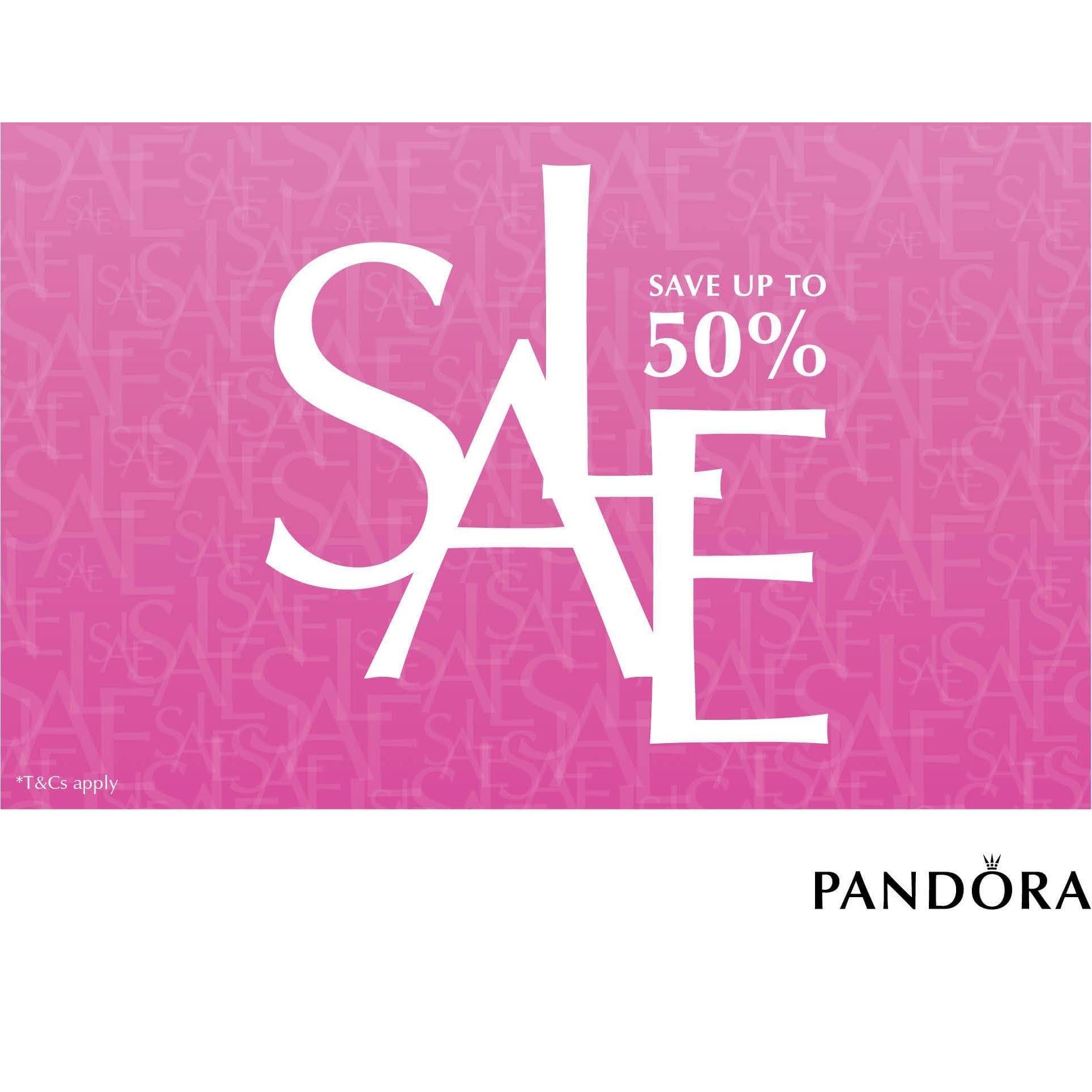 50% Pandora Sale!