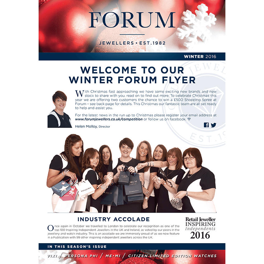 Forum Jewellers Winter News