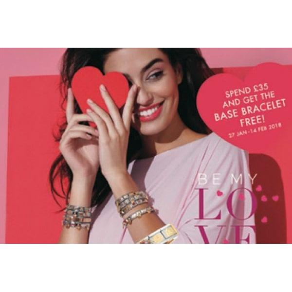 Spend £35 and get the base bracelet free!