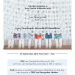 You Are Invited to an Afternoon with Les Georgettes