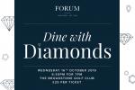 Dine with Diamonds – October 2019