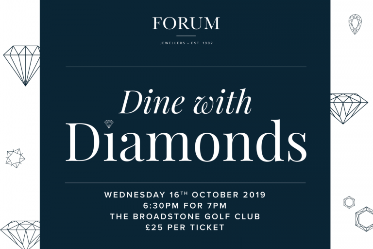 Dine with Diamonds – October 2019