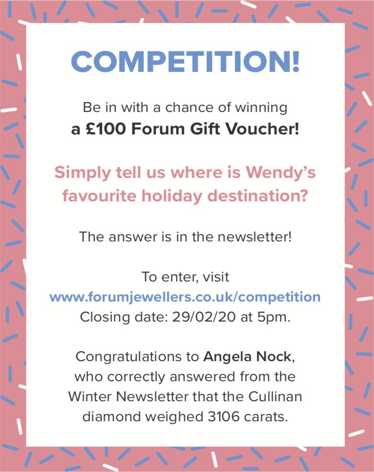 £100 Forum Jewellers Gift Voucher