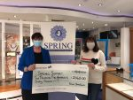 Thank you! You raised £2,560 for SPRING charity!