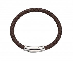 Childs Brown Leather Bracelet