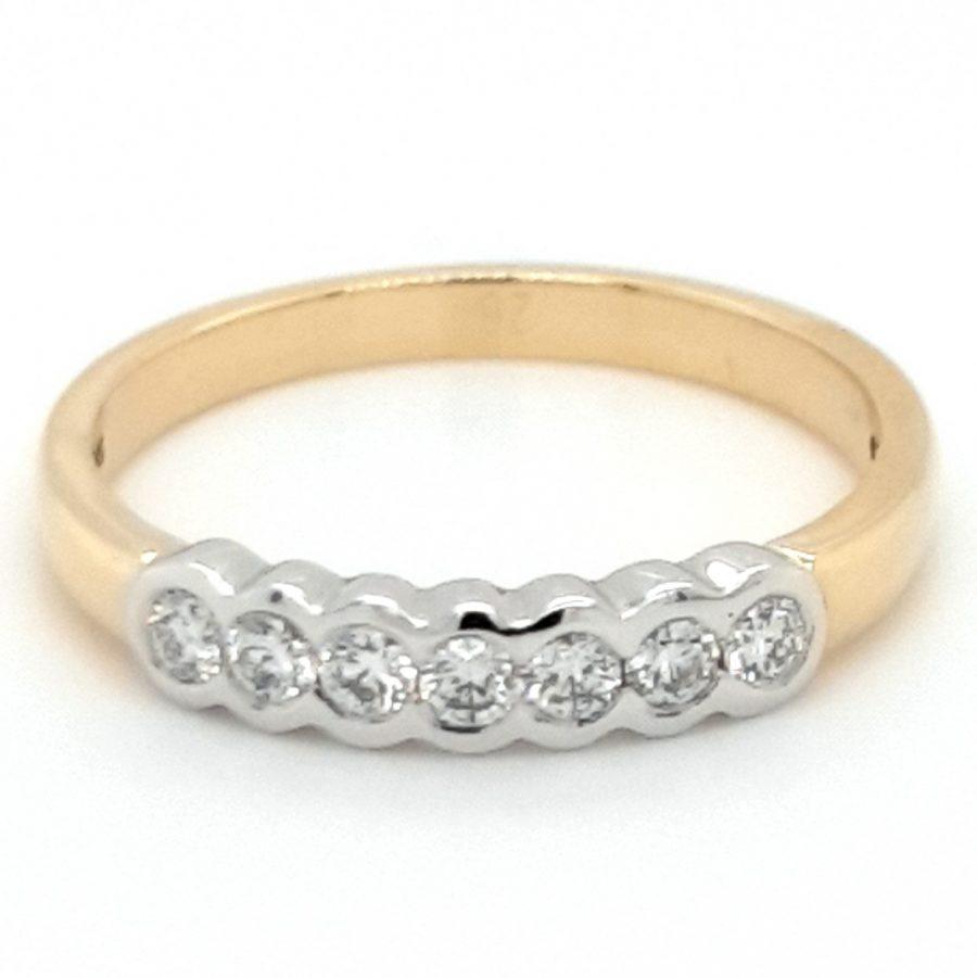 18ct Gold Diamond Eternity Ring 0.27ct