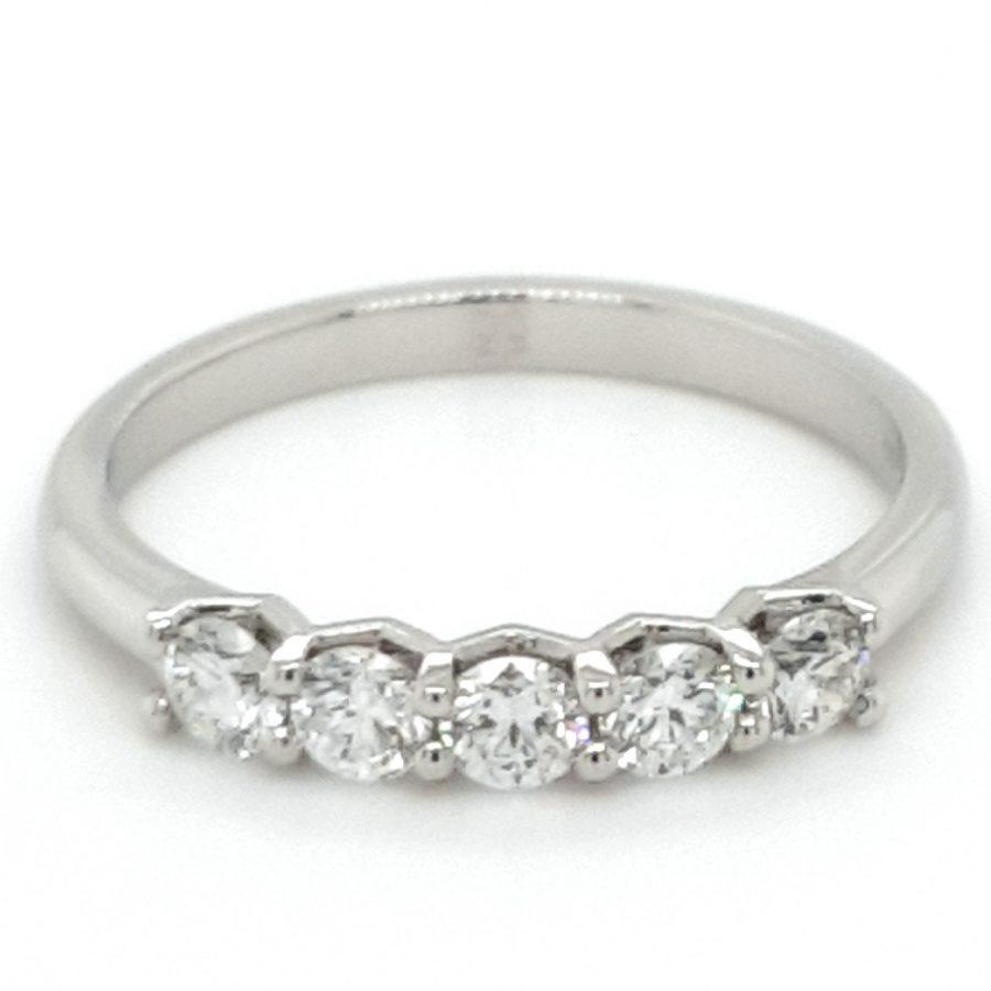 Platinum Diamond Eternity Ring 0.55ct