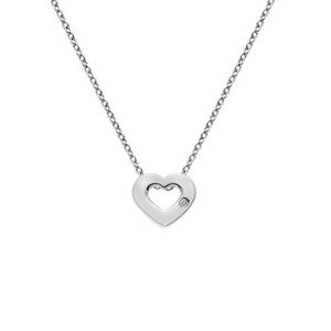 Hot Diamonds silver heart necklace