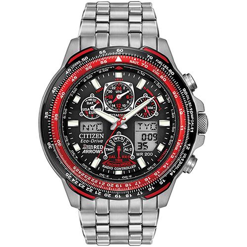 Citizen Gents Red Arrows Bracelet Watch