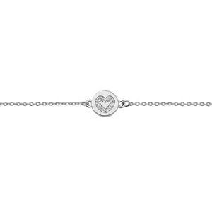 Mother's Day heart bracelet