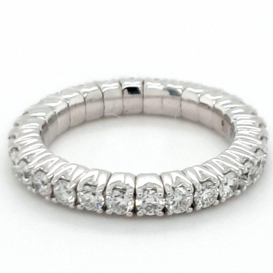18ct White Gold Diamond Eternity Ring 1.00ct