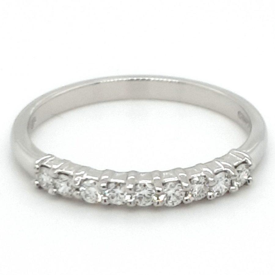 Platinum Diamond Eternity Ring 0.26ct