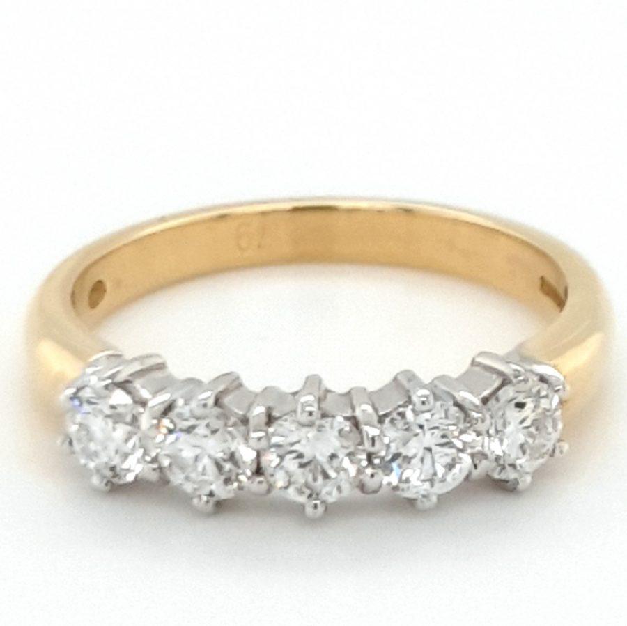 18ct Gold Diamond Eternity Ring 0.79ct