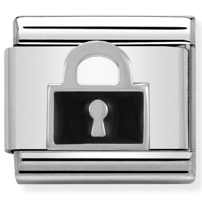 Nomination Link Lock Black