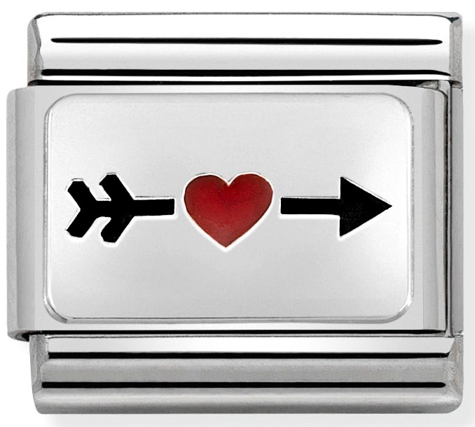 Nomination link arrow red heart