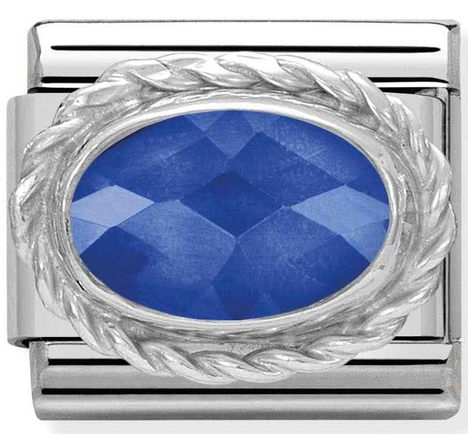 Nomination Blue Gem Link