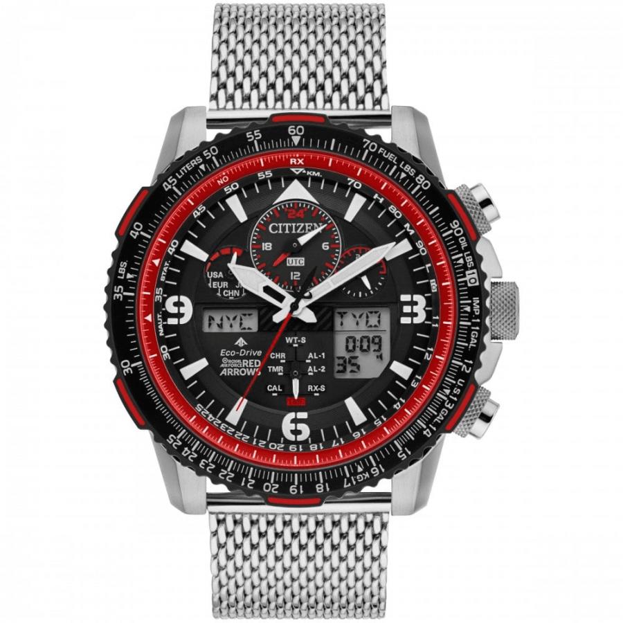 Citizen Gents Limited Edition Red Arrows Bracelet Strap Watch