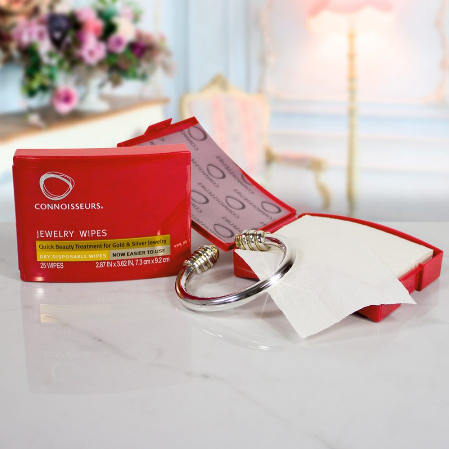 Connoisseurs Jewellery Wipes Product