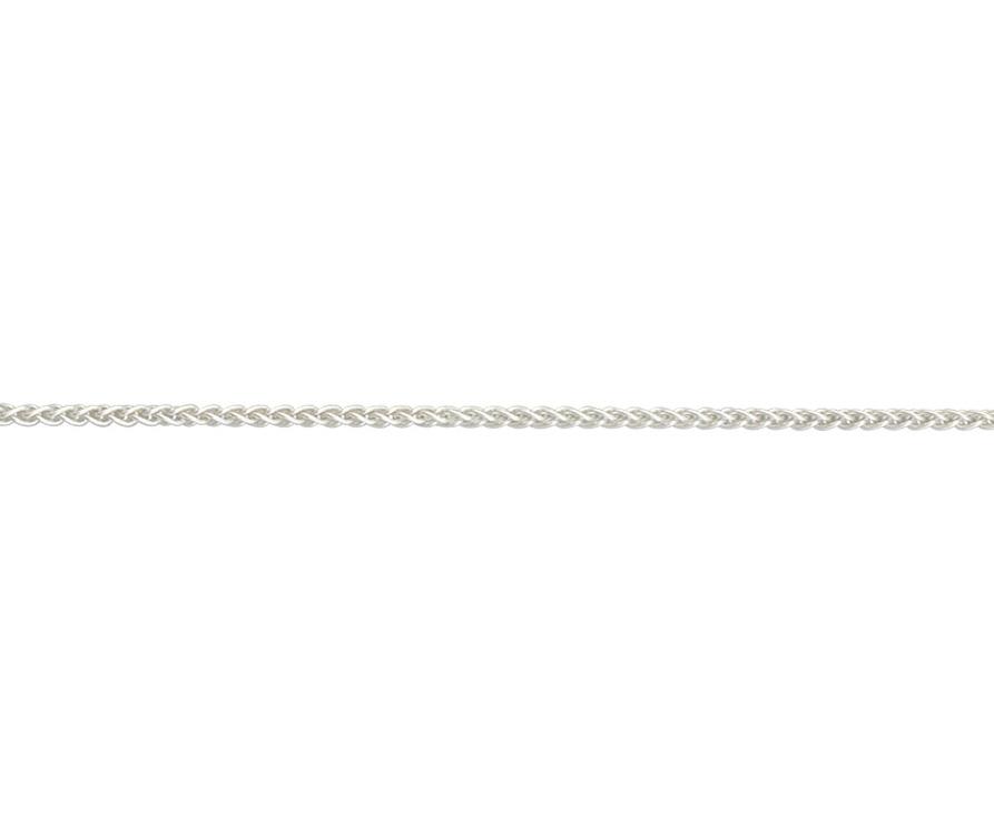 Silver Spiga Chain 18 inch