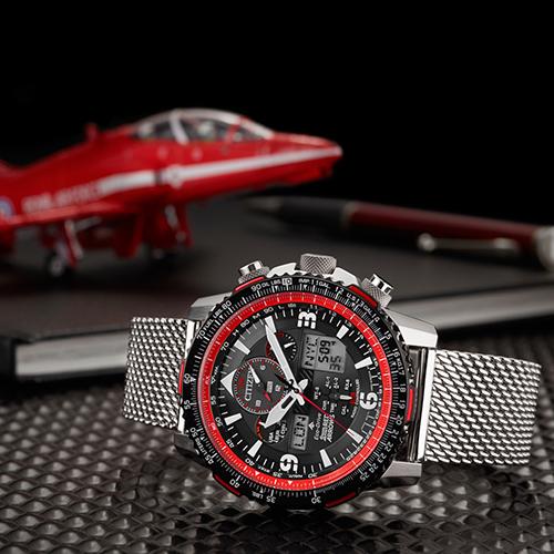 Citizen Gents Limited Edition Red Arrows Bracelet Watch Feature