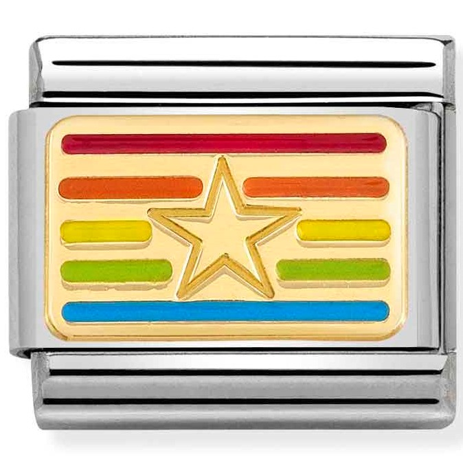 Nomination Link Rainbow Star Flag