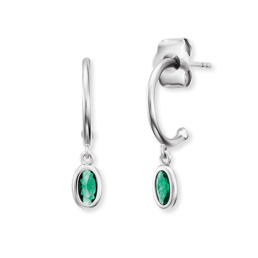 Angel Whisperer Silver Joy Nature Drop Earrings