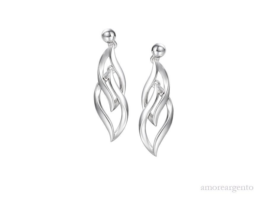 Amore Silver Earrings