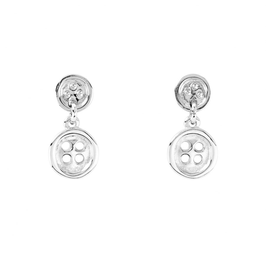UNOde50 Double Trouble Thread of Life Earrings