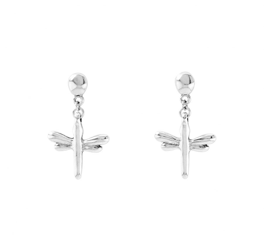 UNOde50 Hold-me Tight Dragonfly Drop Earrings