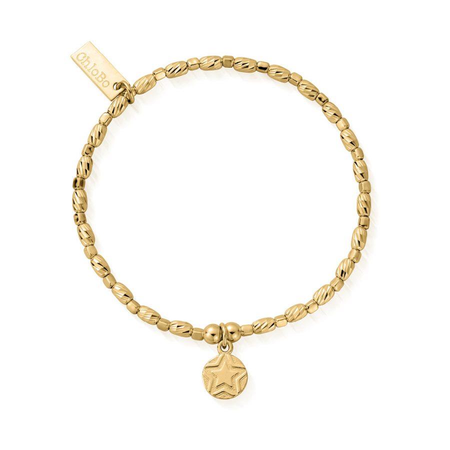 ChloBo Silver Gold Plated Soul Glow Bracelet