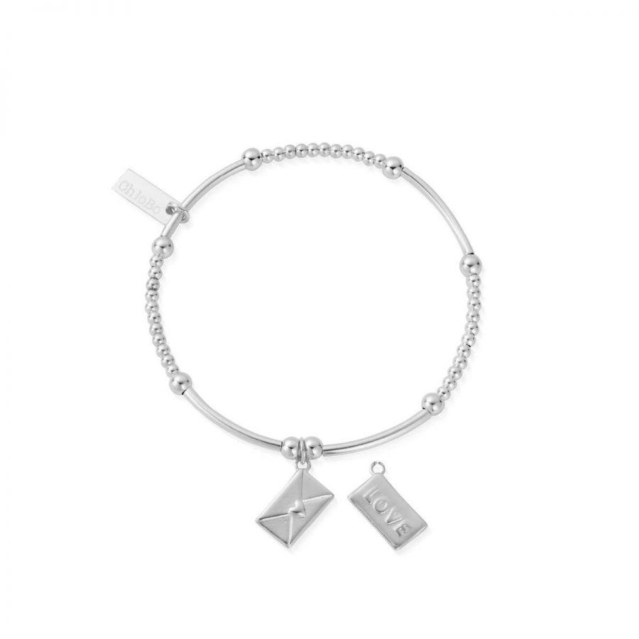 ChloBo Silver Love Letter Bracelet