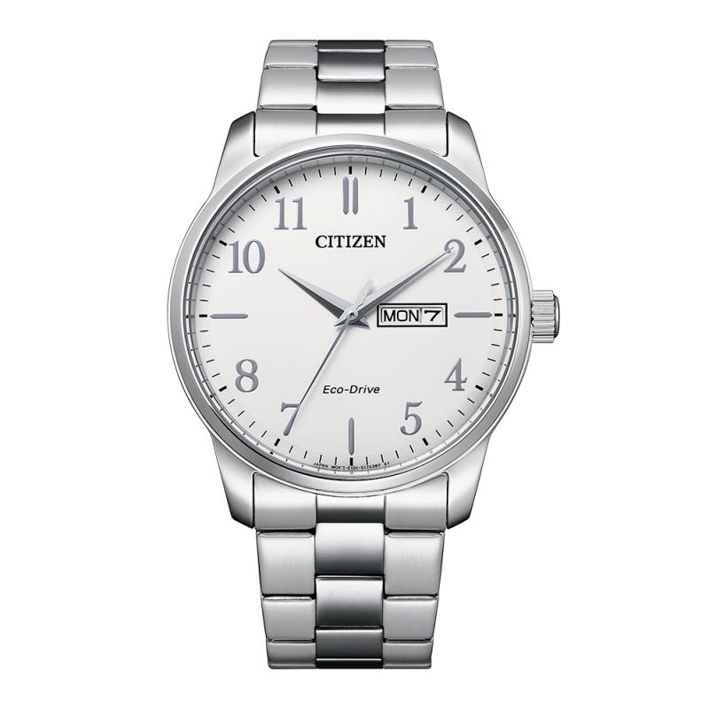 Citizen Gents Bracelet Watch Silver