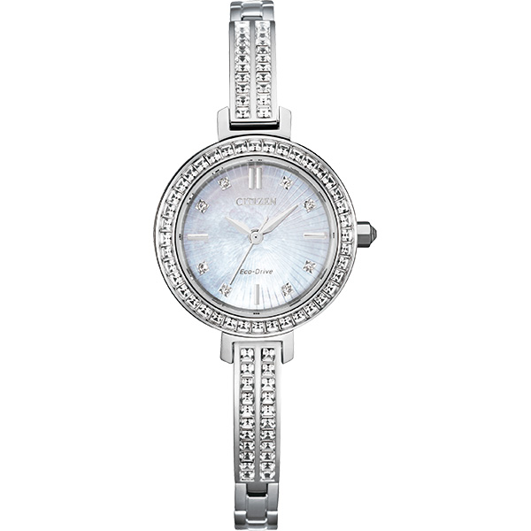 Citizen Ladies Bracelet stainless steel Watch mother of pearl dial