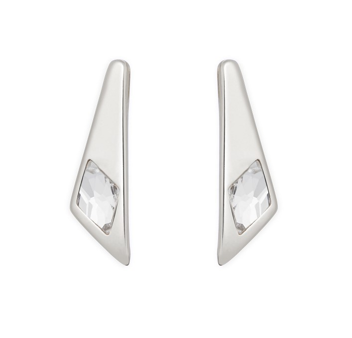 UNOde50 Superstition Earrings Silver plated