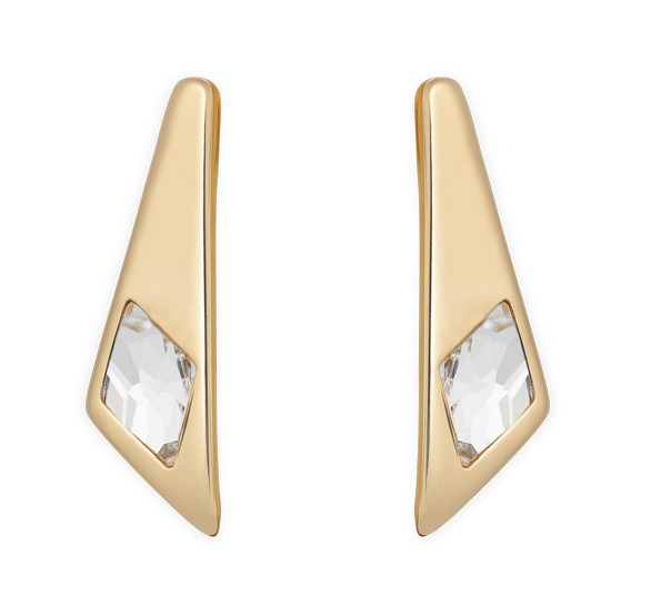 UNOde50 Superstition Earrings Gold plated