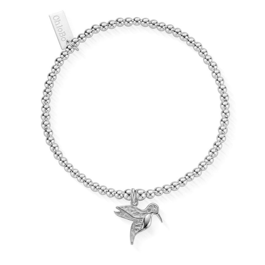 ChloBo Silver Hummingbird Bracelet