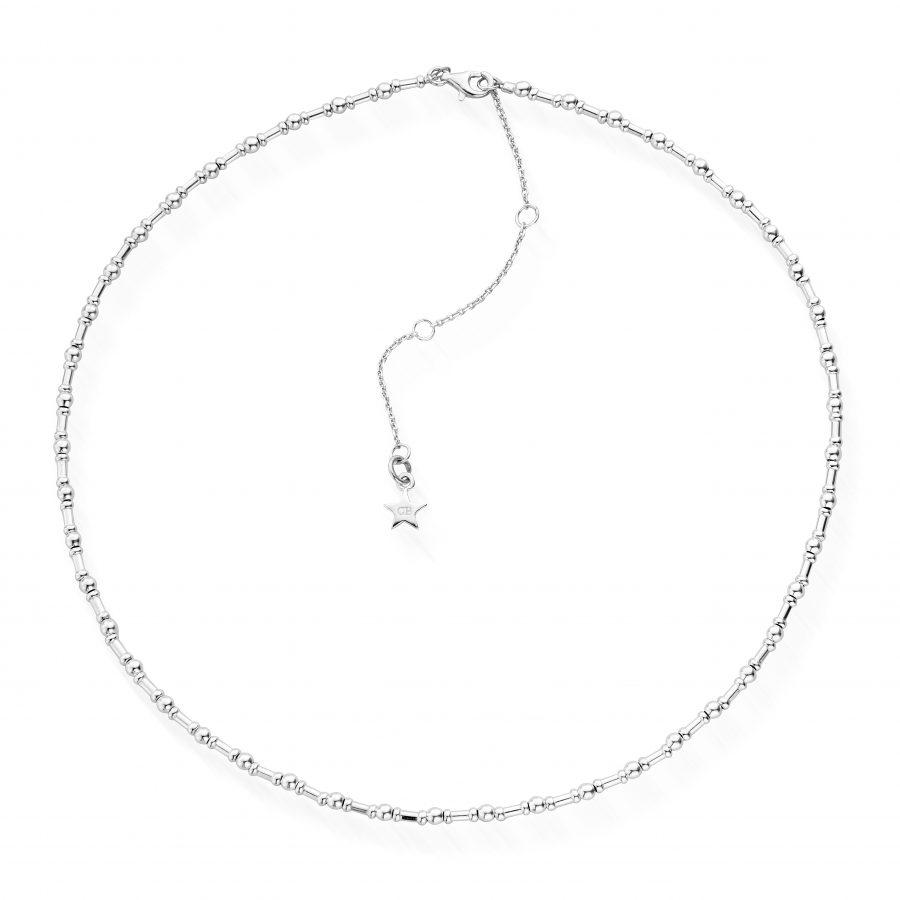 ChloBo Silver Rhythm of Water Necklace