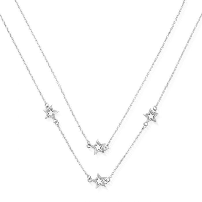 ChloBo Silver Soul Glow Star Necklace